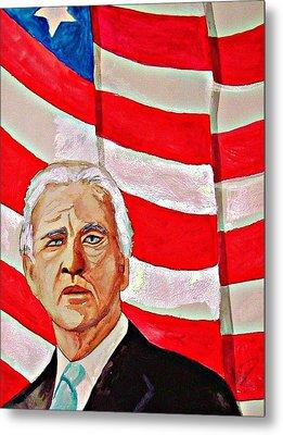 Joe Biden 2010 Metal Print by Ken Higgins