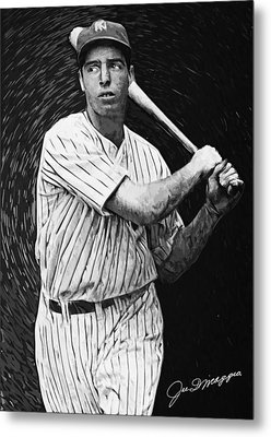 Joe Dimaggio Metal Print by Taylan Soyturk