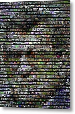 Joe Paterno Mosaic Metal Print by Paul Van Scott