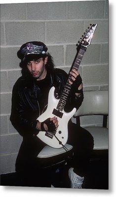 Joe Satriani Metal Print by Rich Fuscia