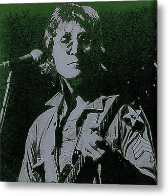John Lennon Metal Print by David Patterson