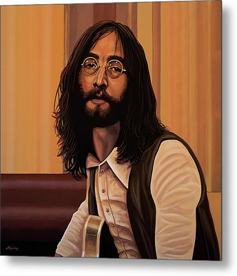 John Lennon Imagine Metal Print by Paul Meijering