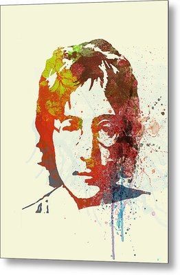 John Lennon Metal Print by Naxart Studio