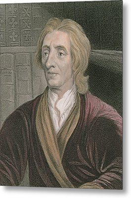 John Locke Metal Print by Sir Godfrey Kneller