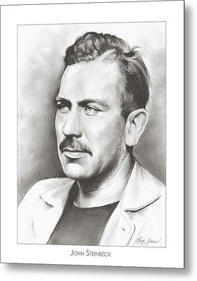 John Steinbeck Metal Print by Greg Joens