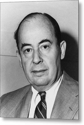 John Von Neumann 1903-1957 Metal Print by Everett
