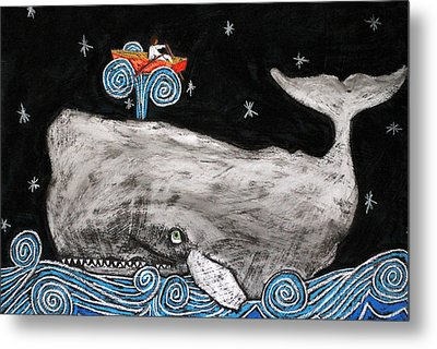 Jonah And The Whale Metal Print by David Hinds