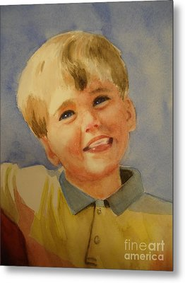 Joshua's Brother Metal Print by Marilyn Jacobson