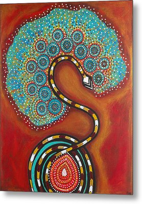 Journey Of Life Metal Print by NARI - Mother Earth Spirit