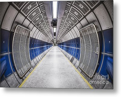 Journey To The Center Of Your Mind Metal Print by Evelina Kremsdorf