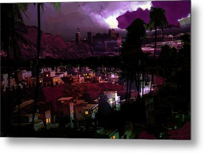 Journeys Through An Innocent Night Metal Print by Paul Sutcliffe