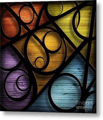Joy-joy-joy-abstract Metal Print by Shevon Johnson