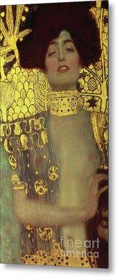 Judith Metal Print by Gustav Klimt