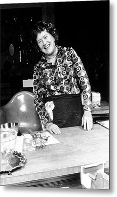 Julia Child, Ca. Early 1970s Metal Print by Everett