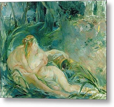 Jupiter And Callisto Metal Print by Berthe Morisot