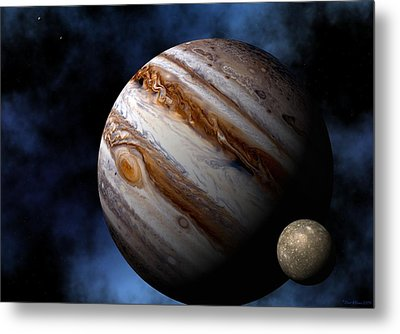 Jupiter Metal Print by David Robinson