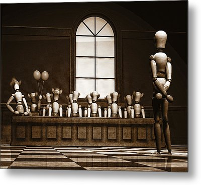 Jury Of Your Peers Metal Print by Bob Orsillo