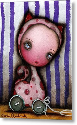 Just A Toy Metal Print by  Abril Andrade Griffith