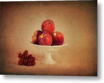 Just Peachy Metal Print by Tom Mc Nemar