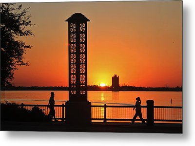 Just Sit And Enjoy Metal Print by John  Glass