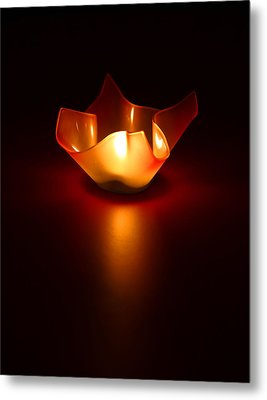 Keep The Light On Metal Print by Evelina Kremsdorf