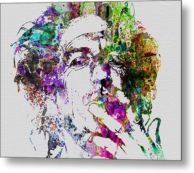 Keith Richards Metal Print by Naxart Studio