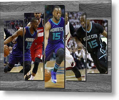 Kemba Walker Charlotte Hornets Metal Print by Joe Hamilton