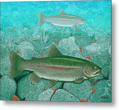 Kenai Caviar Metal Print by Daniel Beard
