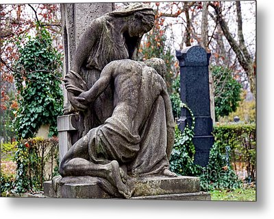 Kerepesi Cemetery, Budapest 1 Metal Print by Vladi Alon