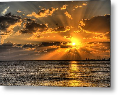 Key West Sunset Metal Print by Shawn Everhart