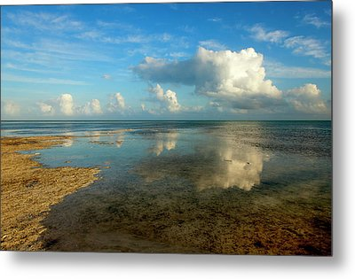 Keys Reflections Metal Print by Mike  Dawson