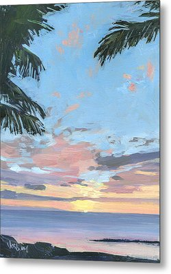 Kihei Sunset Metal Print by Stacy Vosberg