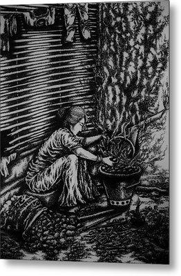Killing Softly  Metal Print by Pralhad Gurung