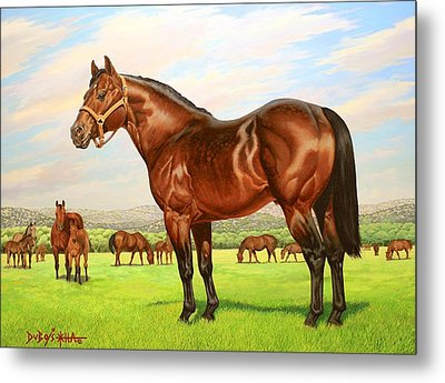 King P-234 No.two Metal Print by Howard Dubois
