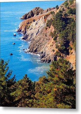 Kirby Cove San Francisco Bay California Metal Print by Utah Images