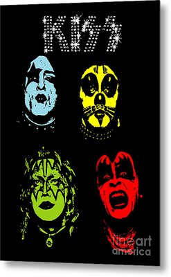 Kiss No.02 Metal Print by Unknow