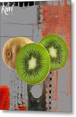 Kiwi Collection Metal Print by Marvin Blaine