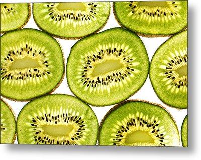 Kiwi Fruit II Metal Print by Paul Ge