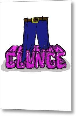 Knee Deep In The Clunge - The Inbetweeners Metal Print by Paul Telling