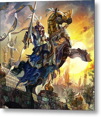 Knight Of New Benalia Metal Print by Ryan Barger