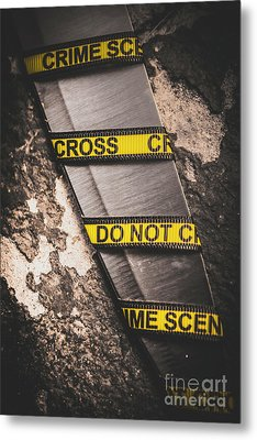 Knives And Clues Metal Print by Jorgo Photography - Wall Art Gallery