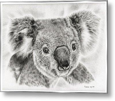 Koala Newport Bridge Gloria Metal Print by Remrov