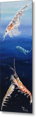 Krill Metal Print by Debra Bailey
