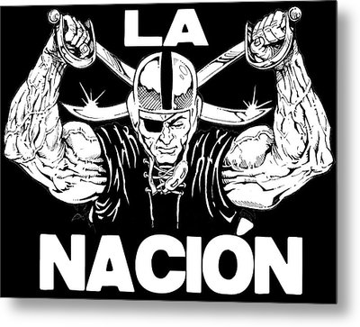 La Nacion Metal Print by Brian Child