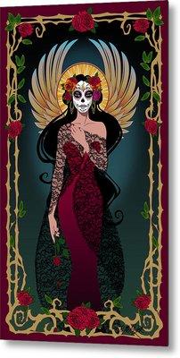 La Rosa Metal Print by Cristina McAllister