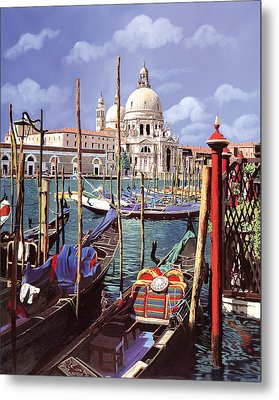 La Salute Metal Print by Guido Borelli