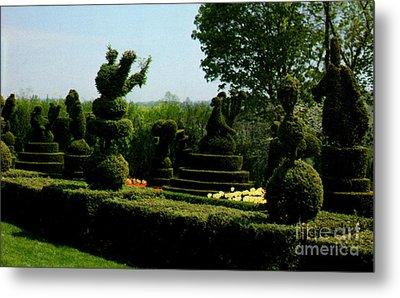 Ladew Topiary Gardens Metal Print by Ruth  Housley