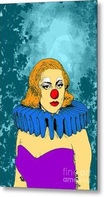 Lady Gaga 1 Metal Print by Jason Tricktop Matthews
