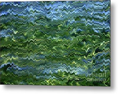 Lake Tahoe Abstract Metal Print by Carol Groenen