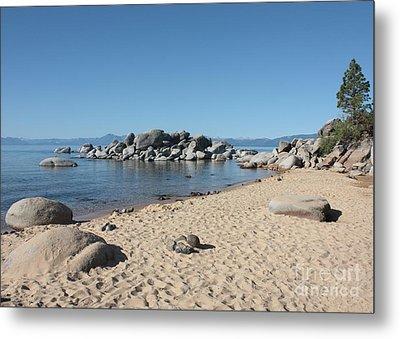 Lake Tahoe Morning Metal Print by Carol Groenen